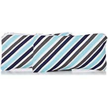 Itzy Ritzy Mini Reusable Snack and Everything Bag, Sail Away Stripe