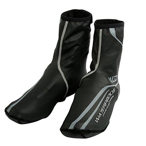 Fundas de neoppreno West Biking para calzado para hombre West Biking, resistente al viento, al agua, térmicos, color negro gris
