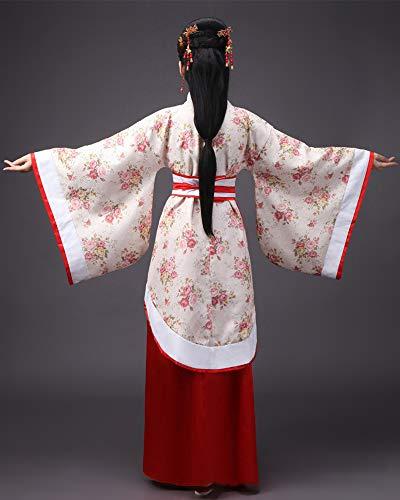 Show Escenario Traje Mujeres Hanfu Antiguo Para Chino Vestidos Tang Cosplay De Ropa Tradicional Clásico Estilo 2 Style Actuaciones Zevonda O6gxqq