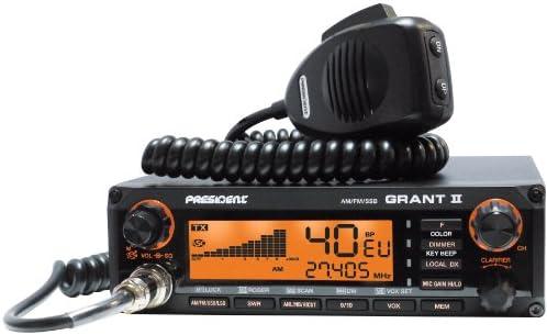 President Grant II All Mode AM/FM/SSB Mobile CB Radio