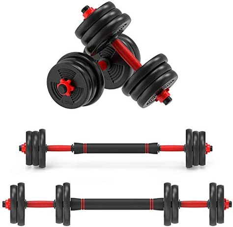 2021 FITNESS 20//30KG DUMBELLS PAIR OF WEIGHTS BARBELL//DUMBBELL BODY BUILDING SET