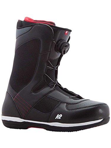 K2 Seem Snowboard Boots 2018 - 12.0/Black - K2 Snowboarding