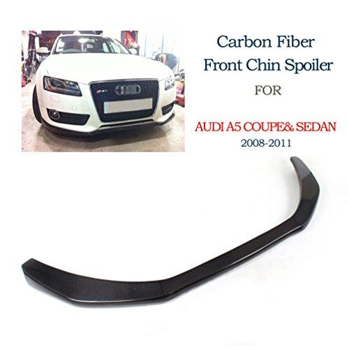 [JCSPORTLINE Carbon Fiber Front Chin Spoiler for Audi A5 2Door Coupe&4Door Sedan 2008-2011(NOT for Sline-sportback)] (Audi A5 Tuning)