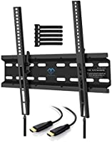 TV Wall Mount Bracket for Most LED, LCD, OLED, Flat Screen,Plasma TVs