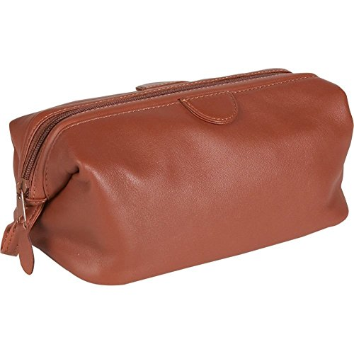 Royce Deluxe Toiletry Bag - Leather - Tan by Royce Leather