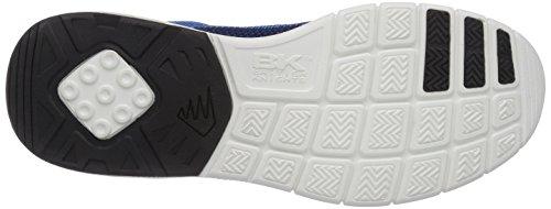 British Knights DEMON - zapatilla deportiva de material sintético hombre Azul (Navy/Blue/Yellow 24)