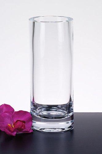 Amazon Badash Manhattan Cylinder Thick Sham Cylinder Vase 9 3