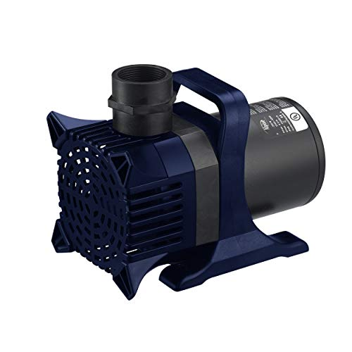 Alpine Corporation PAL3100 Pump, 33', Black (8' Head Mesh)