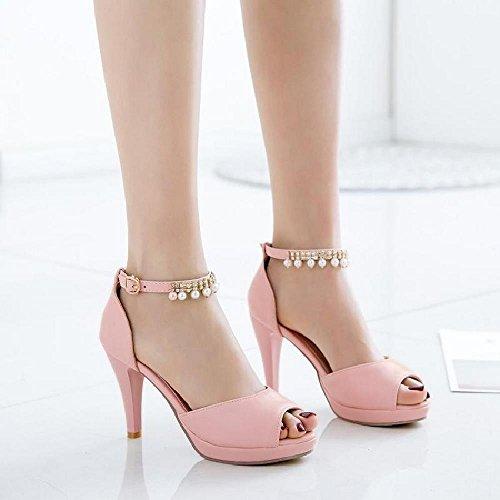 Peep oras LI Sandalias Zapatos Zapatos Toe Bajos heelsWomen Chanclas Verano Alto Sandalias se BAJIAN dXxqvAUA