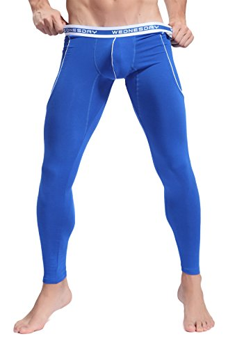 Long Super Low Rise Pant - ARCITON Men's Low Rise Leggings Long Johns Thermal Pant US M/with Tag L(Waist: 33