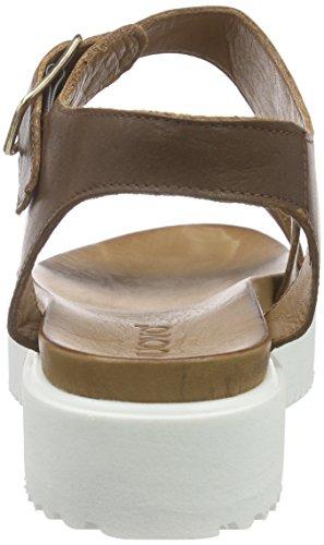 Inuovo 6106 - Sandalias con plataforma Mujer Marrón - marrón (Dark Brown)
