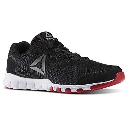 Reebok Everchill Trainer- pour homme Noir/rouge–UK 8.5, Noir/rouge
