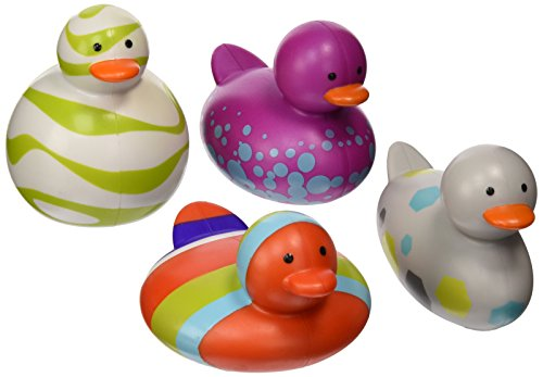 Boon Bath Toys Odd Ducks 4 Pack The Glass Baby Bottle