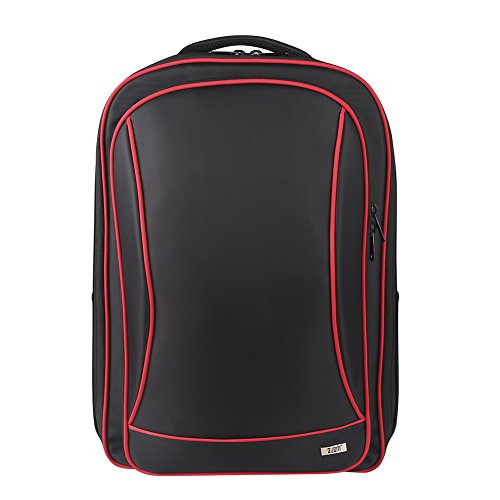 BUBM Storage Bag for PS4 and VR, Travel Gadget Organizer Backpack for PS VR, PS4 Game Console and Accessories, High Capacity and All in One Place, Comfortable to Carry PS4 Pro Case, Black