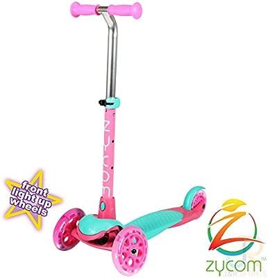 Monopatín Zycom completo con ruedas con luces, Infantil ...