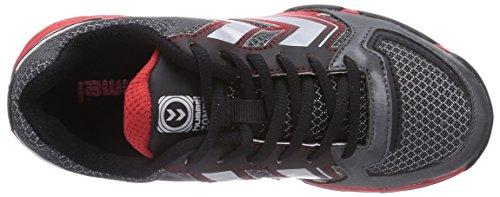 hummel HUMMEL CELESTIAL - Zapatillas deportivas para interior de material sintético infantil gris - Grau (Magnet 1025)