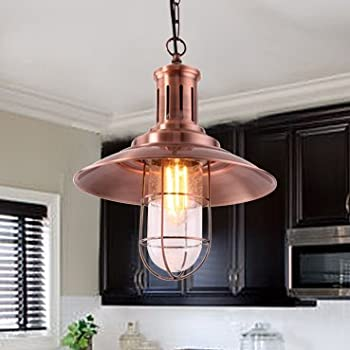 mstar industrial vintage pendant light e26 retro ceiling pendant light shade fishman style for kitchen caf