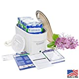 Therabath Professional Thermotherapy Paraffin Bath - Arthritis Treatment Relieves Muscle Stiffness - For Hands, Feet, Face and Body - 6 lbs Blooming Lilacs
