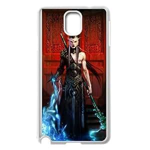 Diablo Iii funda Samsung Galaxy Note 3 caja funda del teléfono celular del teléfono celular blanco cubierta de la caja funda EEECBCAAB13433