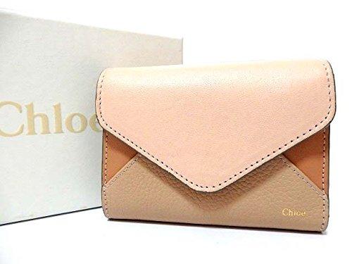(クロエ) Chloe 3P0208 3つ折り 三つ折り財布 レザー ユニセックス 0549 中古 B078XBW74J