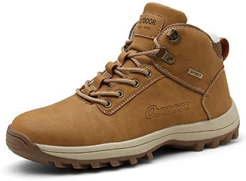 登山靴 スノーシューズメンズ マーティンブーツ ラウンドトゥ フォーマル レースアップ 紳士靴 通勤 裏起毛 秋靴 冬靴 滑り止め ワークブーツイングランド風 ハイキングブーツ ウィンターブーツ 雪靴 綿靴