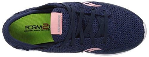 Footwear Relay Saucony pink Women's Kineta Navy qwntOf