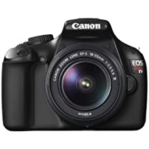 Canon EOS Rebel T3 12.2MP Digital SLR Camera with EF-S 18-55mm f/3.5-5.6 DC III Zoom Lens (Black)