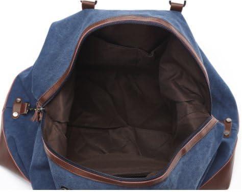 Blue Weekender Bag