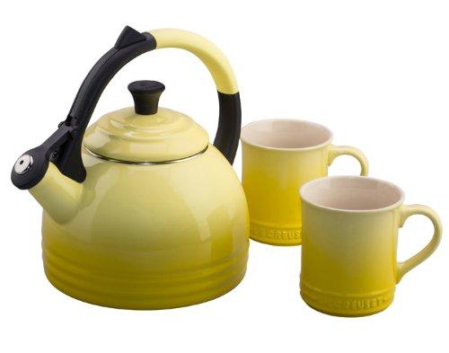 Le Creuset Peruh 1.7qt Tea Kettle & Mug - Soleil by Le Creuset