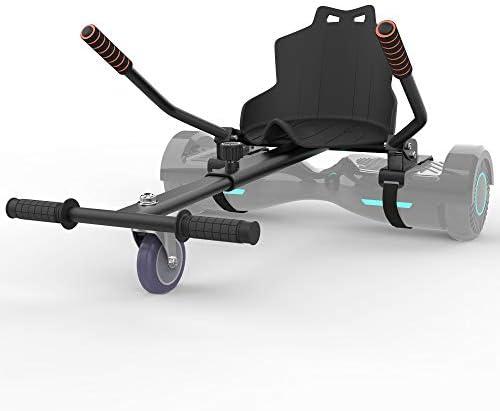 Leogreen - Kart pour Overboard, Overkart, Noir, Longueur: Réglable de 79 à 100 cm, Couleur: Noir