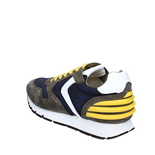 Voile Blanche Sneakers Hombre 45 EU Verde Azul Gamuza Textil