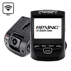 Rexing V1 Wi-Fi Car Dash Cam 2.4