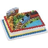CakeDrake THOMAS the Tank TRAIN Coal Car Birthday Cake Decoration Party Topper Set Kit