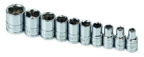 SK 4910 10 Piece 1/4 Drive 6 Point Standard Fractional Socket Set [並行輸入品] B078XL7FBP