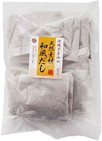 沖縄ざまみの天然和風だし100g×10P×2P 座間味こんぶ かつお いわし 健康素材100%の和風だしパック 味噌汁やうどん、お鍋の出汁にどうぞ