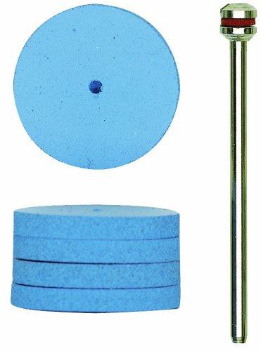 Proxxon 28294 7/8-Inch Silicone Polishing Wheels, 10-Piece