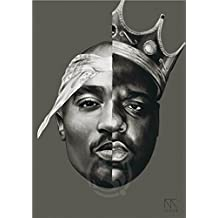 Bling You 40 X 60 Cm Poster tupac Poster Top Decor 2pac Room Wall Posters As Gift 16x24Inch