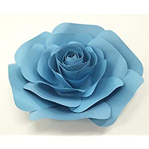 DecorInTheBox Large Paper Flower 30cm (12 inch) Wedding Photography Flower Backdrop, Birthday Wall Decor, Fully Assembled 1