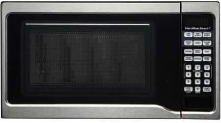 700 watt, .7 cubic foot stainless steel microwave