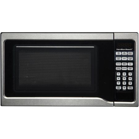 .7 cubic foot, 700 watt microwave (Stainless steel)