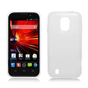 Silicone Skin Soft TPU Gel Cover Case For ZTE Source N9511, Clear