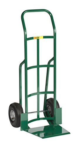 Little Giant T-360-10P Shovel Nose Hand Truck with Continuous Handle, 800 lb Capacity, Green