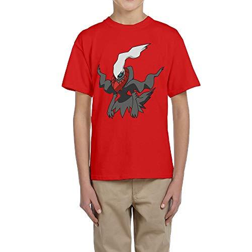 manga Red camiseta Boy de corta Aidear xTIpqgBn