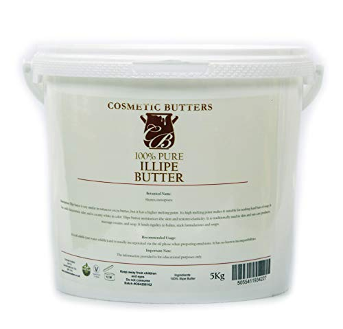 - Mystic Moments Illipe Butter - 100% Pure and Natural - 5Kg
