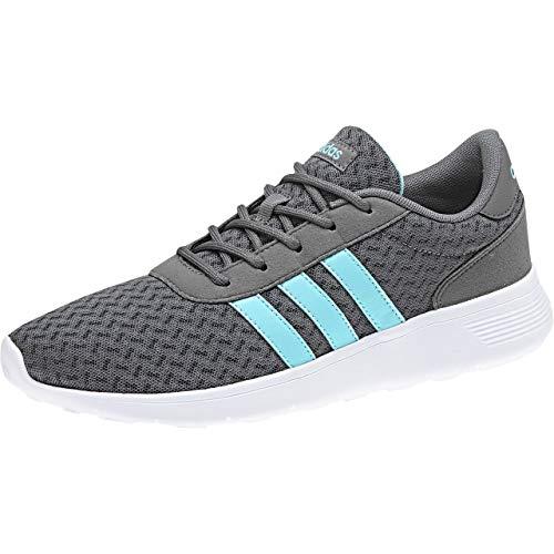 Lite Adidas Four grey De Gris Fitness Wht clear W Chaussures Aqua Femme ftwr F17 Racer TRrxqdR