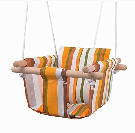 Amazon.com: Hamaca colgante de lona para patio para niños ...