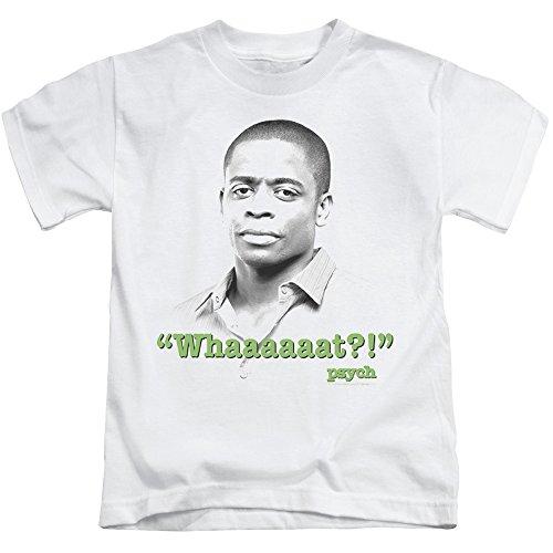 Psych Detective Comedy Drama TV Series USA Whaaaaaat?! Little Boys T-Shirt Tee White