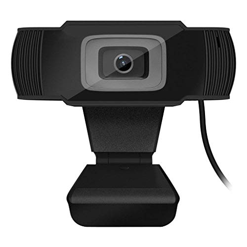 Asdf HD Webcam, PC Computer Web Cam Mini Camera With Microphone For Laptops And Desktop,30FPS Auto Focus Computer Camera by Asdf