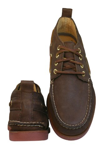 Sperry Top-Sider Men's Gold A/O Chukka,Dark Brown Leather,US 7.5 M
