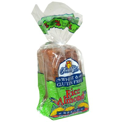 Food For Life Baking Rice Almond Bread, 24 Ounce - 6 per case.